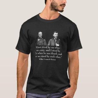 Generais Grant e Sherman -- E citações T-shirt