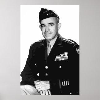 General Bradley -- Herói da guerra Posters