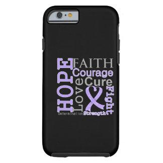 General Cancer Esperança Fé Divisa Capa Tough Para iPhone 6