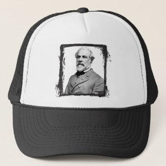 General Robert E. Lee EUA do quadro do Grunge Boné