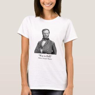 General Sherman e citações T-shirt