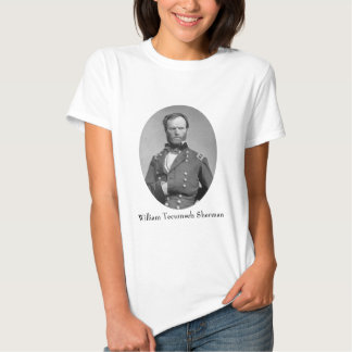 General William Tecumseh Sherman Tshirts