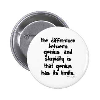 Gênio e estupidez boton