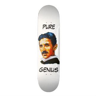 Gênio puro de Tesla Shape De Skate 21,6cm
