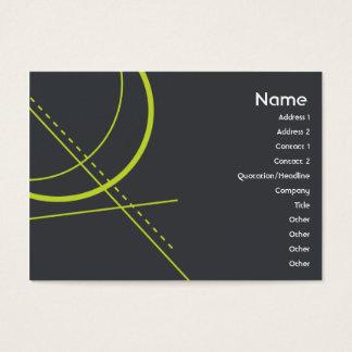 Geometria - carnudo cartão de visitas