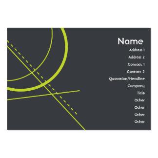 Geometria - carnudo modelo cartões de visitas