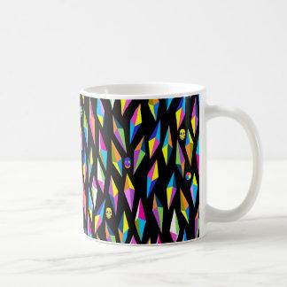 geometricas dos formas do abestrato caneca de café