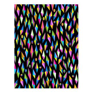 geometricas dos formas do abestrato cartão postal
