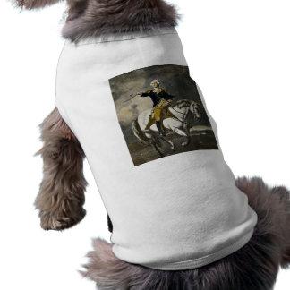 George Washington em Trenton Camisa Sem Mangas Para Cachorro