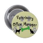 Gestor de escritório veterinário botons