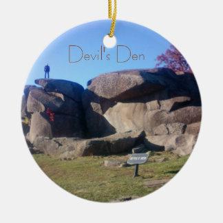 Gettysburg - o antro do diabo - ornamento