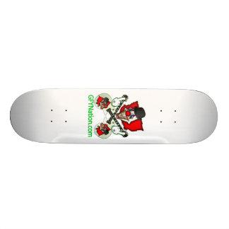 """GFYNation.com 8 1/8"""" plataforma Shape De Skate 21,6cm"""