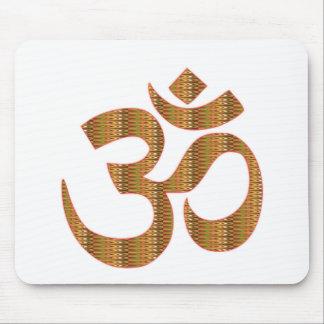 GIF da hinduísmo do canto da meditação da ioga de  Mouse Pad