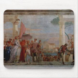 Giovanni Tiepolo- a recepção de Henry III Mousepad