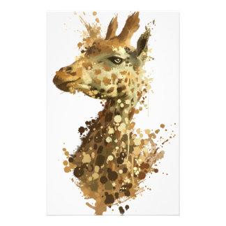 Girafa da manhã papelaria