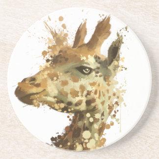 Girafa da manhã porta copos para bebidas
