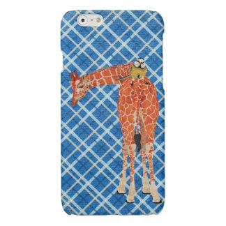 Girafa da xadrez & pássaro pequeno