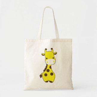 Girafa do bebê bolsa tote