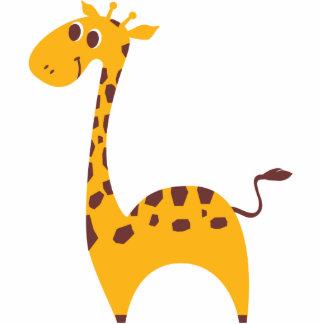 Girafa doce foto escultura