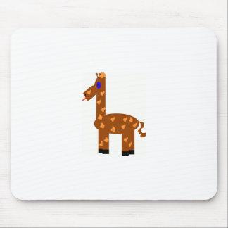girafa engraçado mouse pad