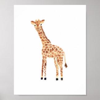Girafa Póster