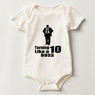 Girando 10 como um chefe babadores
