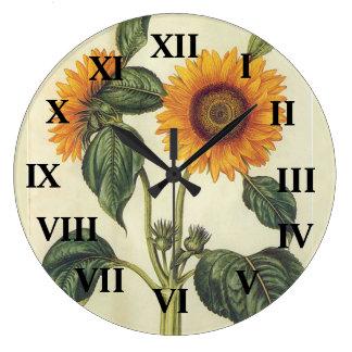 Girassóis Relógios De Pendurar