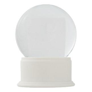 Globo branco da neve do ônix