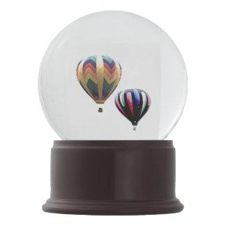 Globo da neve - balões de ar quente