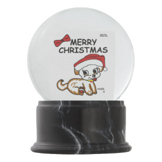 Globo da neve do Feliz Natal