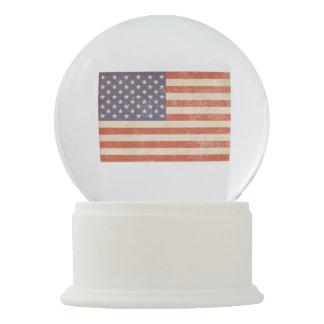 Globo De Neve Bandeira americana
