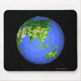 Globo Geodesic no espaço Mouse Pad