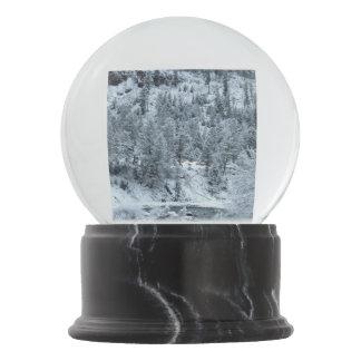 "Globo ""manhã da neve em Yellowstone """