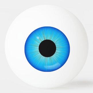 Globo ocular azul da íris bola de ping-pong