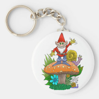 Gnome.jpg de ondulação chaveiro