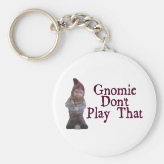 Gnomie não joga aquele chaveiro
