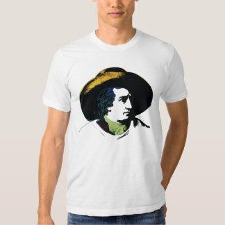 Goethe retro camisetas