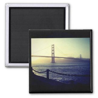Golden gate bridge - San Francisco Ímã Quadrado