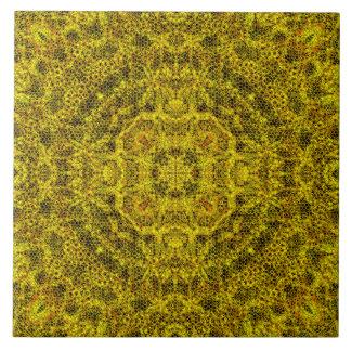 Goldweb filigrana azulejo quadrado grande