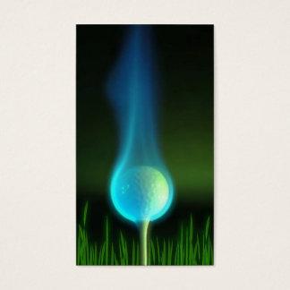 Golf o cartão de visita ou o logotipo do design