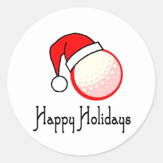 GolfChick boas festas Adesivos Em Formato Redondos