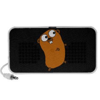 Gopher customizável bonito caixinha de som