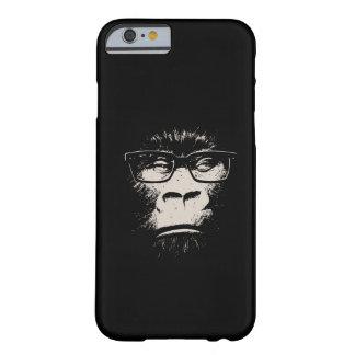 Gorila do hipster com vidros capa barely there para iPhone 6