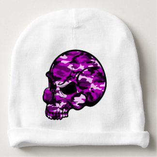 Gorro Para Bebê Arte cor-de-rosa do tottoo dos grafites da cabeça