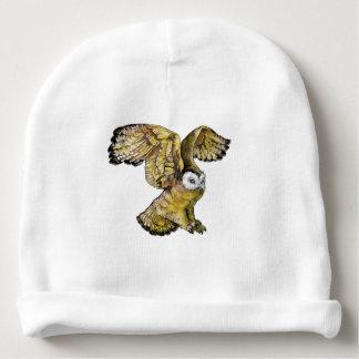 Gorro Para Bebê Beanie do algodão do bebê da coruja
