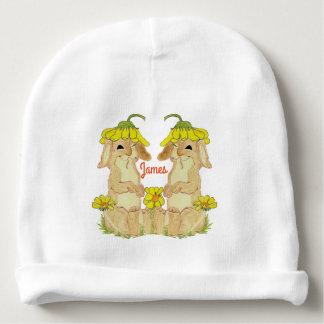 Gorro Para Bebê Beanie engraçado do algodão do bebê do coelho