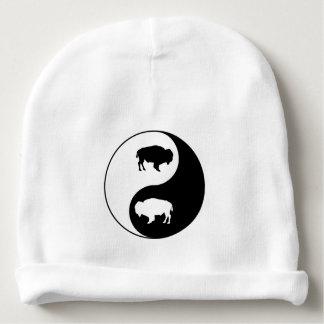 Gorro Para Bebê Bisonte de Yin Yang