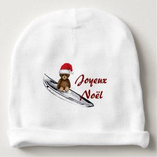Gorro Para Bebê Boné branco bebé Nounours, surf e Natal