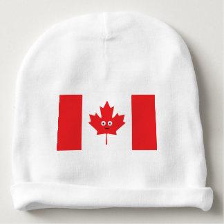 Gorro Para Bebê Cara canadense da folha de bordo