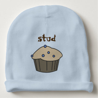 Gorro Para Bebê Chapéu bonito do azul do bebé do muffin de